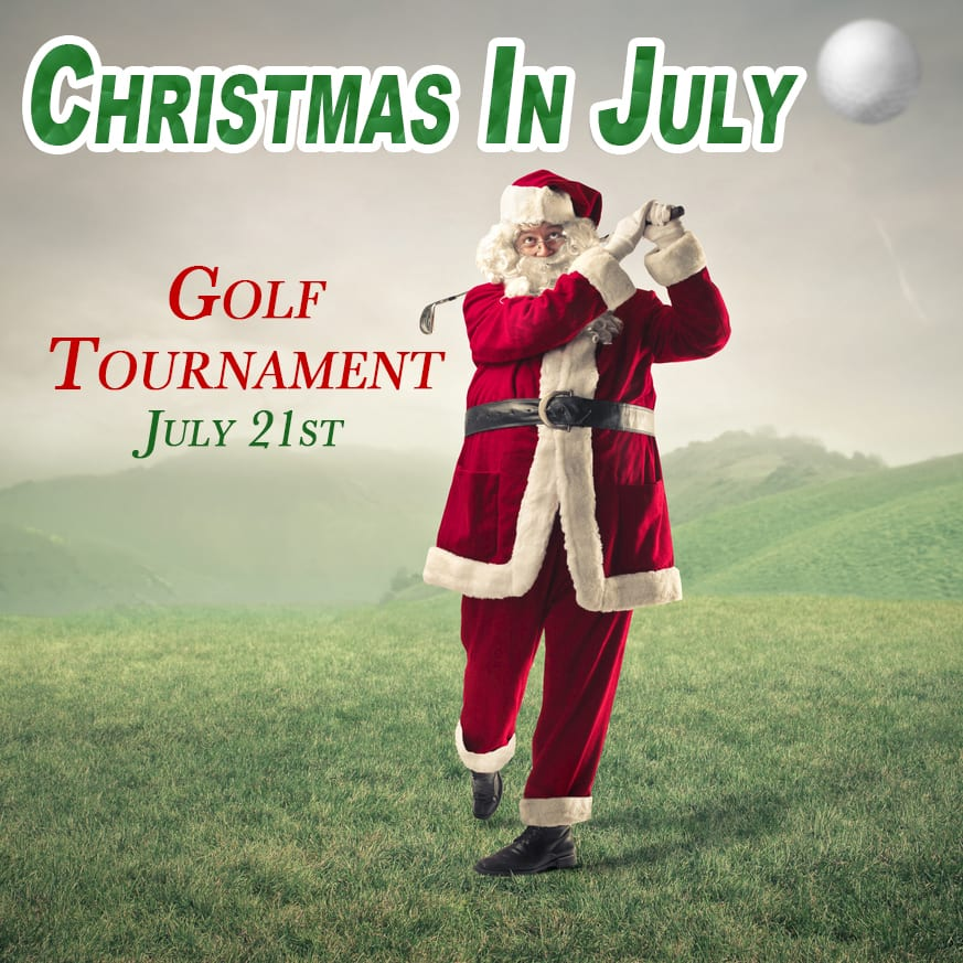 Christmas in July Golf Tournament 2017