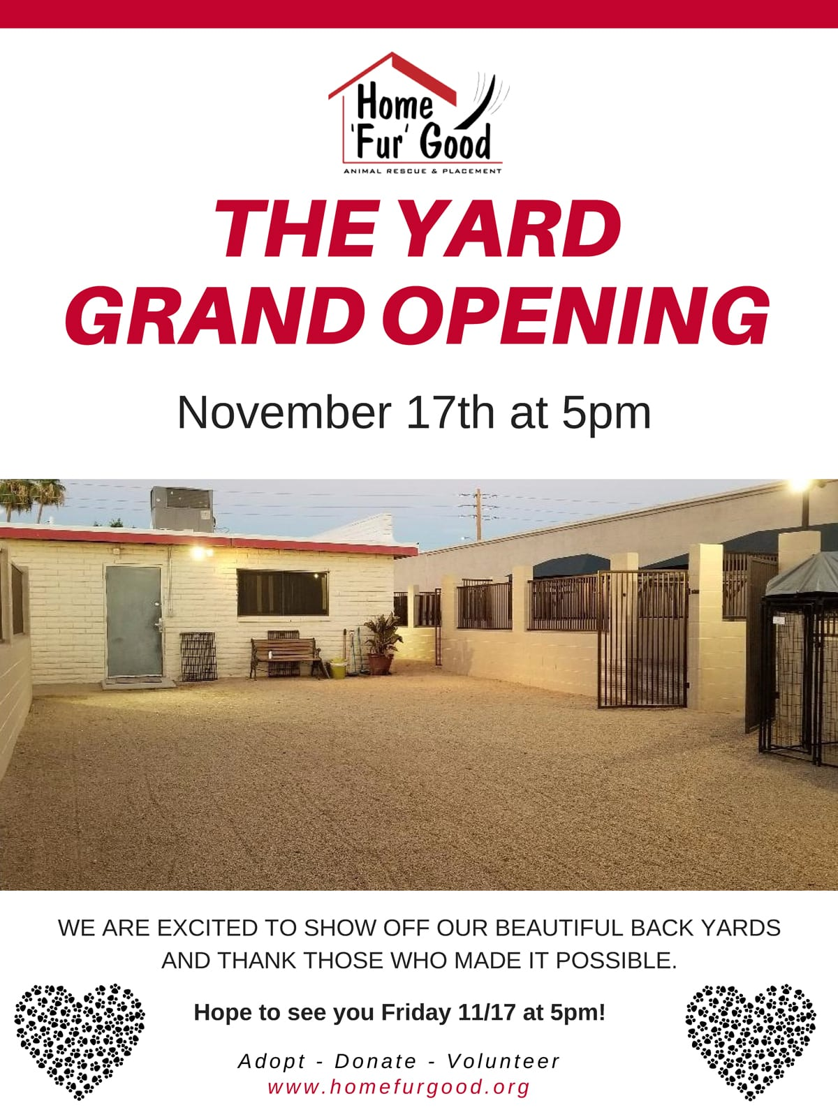 The Yard Grand Opening